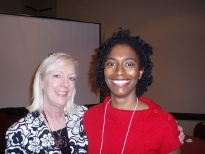 me with Author Margie Lawson