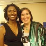 Me & author Jade Lee @ The Gathering