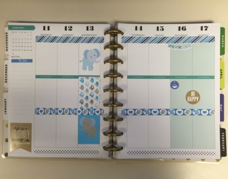 How I'm Using my MAMBI Happy Planner: Weekly Layouts