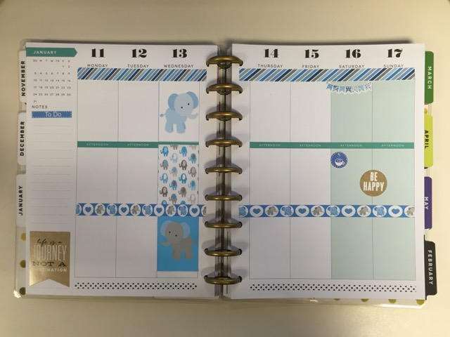 Planner Tips: Using My MAMBI Happy Planner